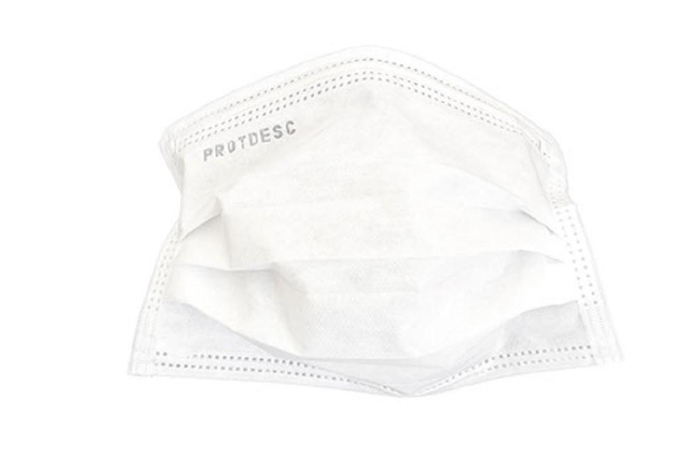 Mascara Descartavel Tripla Protdesc Branco C/ 50