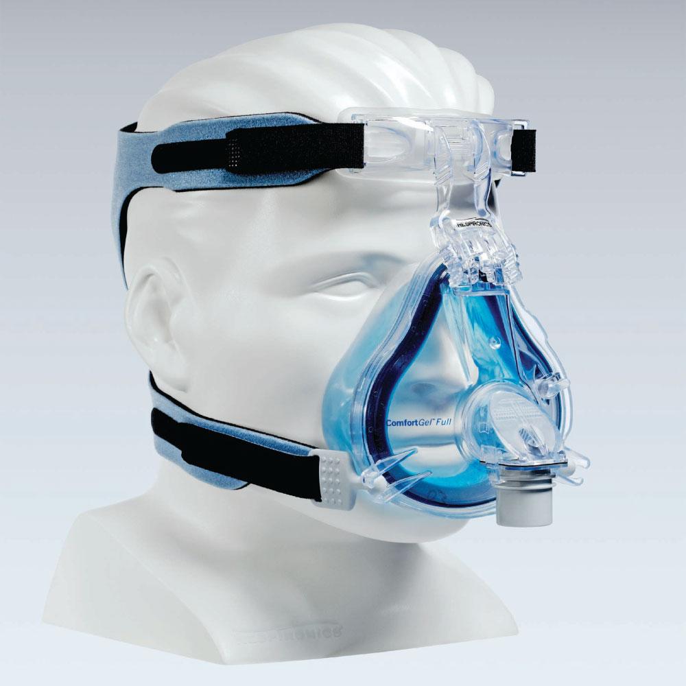 Mascara Philips Respironics Comfort GEL Blue FULL