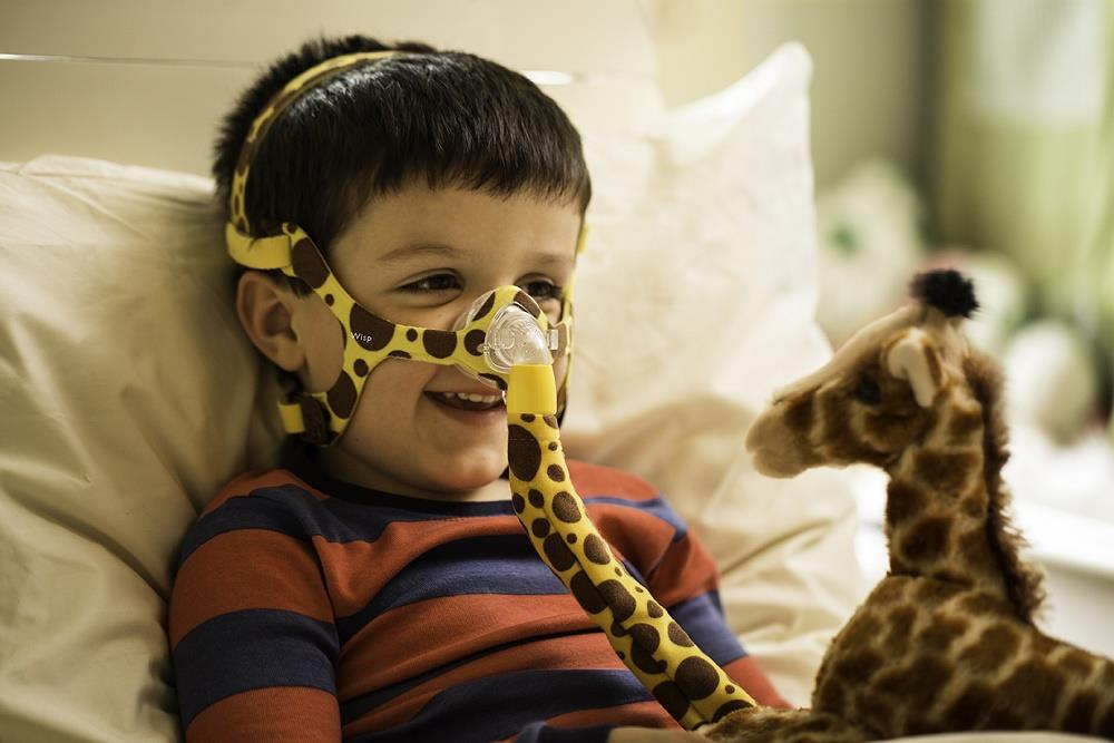 Mascara Philips Respironics WISP Pediatrica