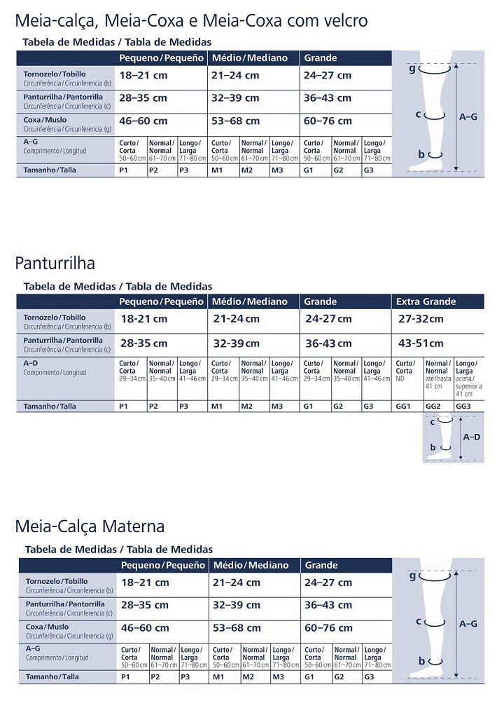 Meia Calca Sigvaris Select Comfort 862 20-30 C/ Ponteira
