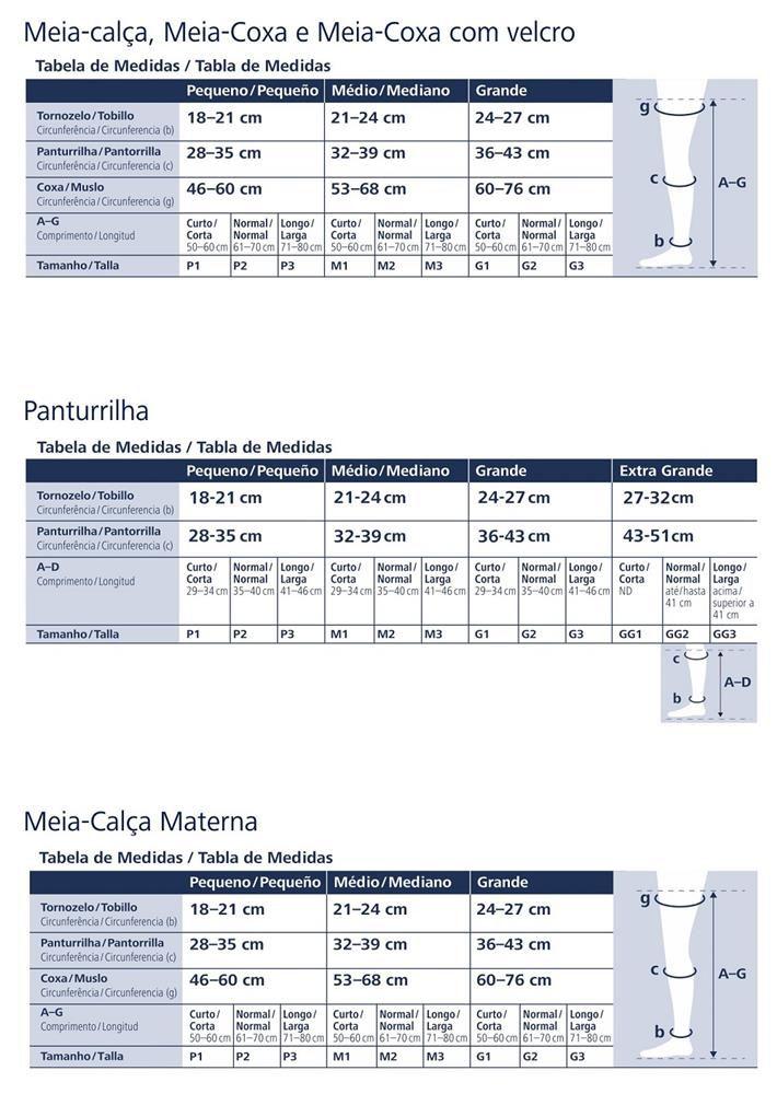 Meia Panturrilha Sigvaris Select Comfort 862 20-30 C/ Ponteira