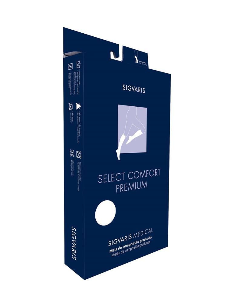 Meia Panturrilha Sigvaris Select Comfort 862 20-30 S/ Ponteira