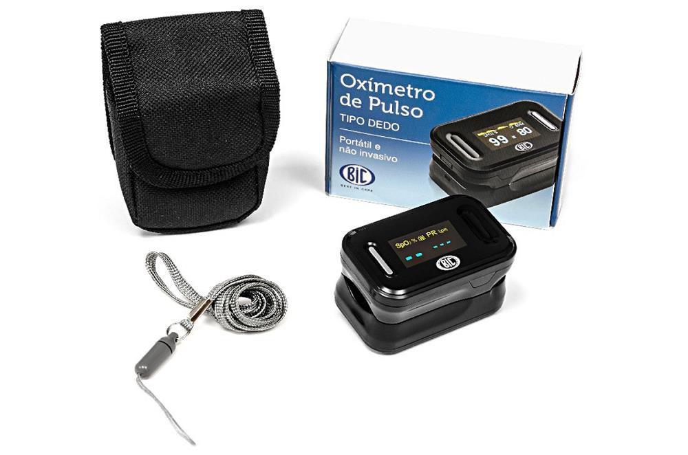 Oximetro de Pulso para Dedo BIC YK-80B