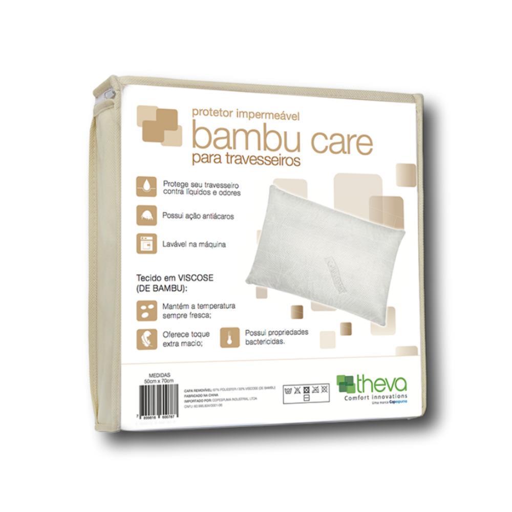 Protetor de Travesseiro Impermeavel Theva Bambu Care
