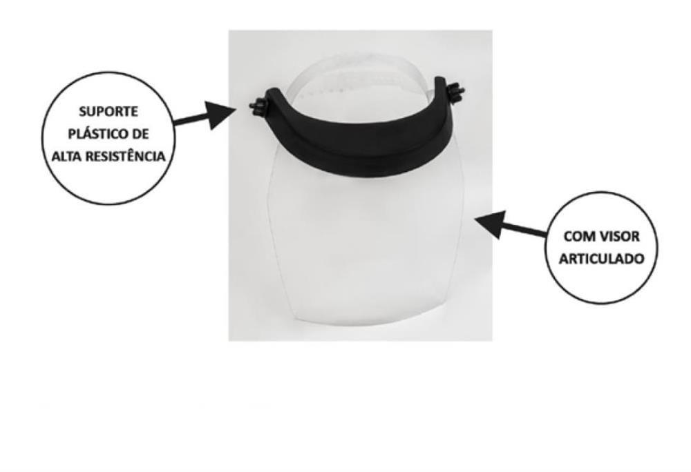 Protetor Facial Face Shield Articulado Renove