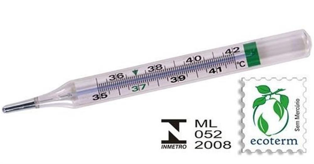 Termometro Clinico Ecologico 1.0  Incoterm
