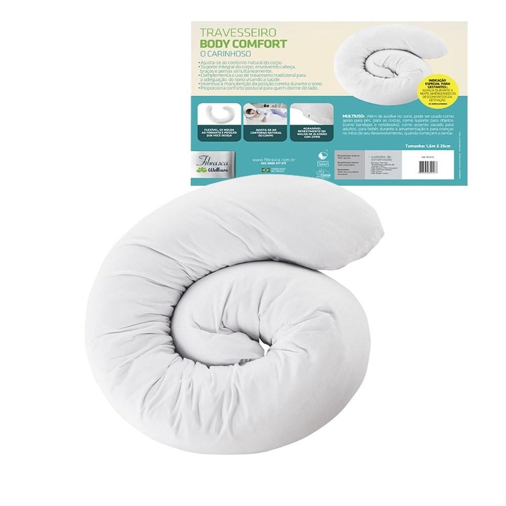 Travesseiro BODY Comfort Fibrasca