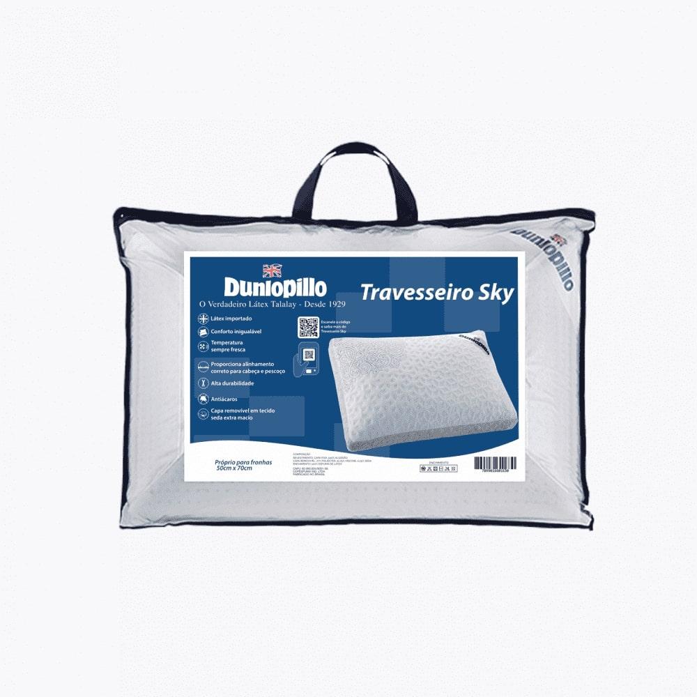 Travesseiro de Latex Dunlopillo SKY