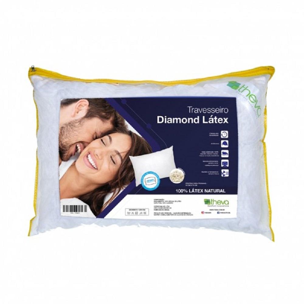 Travesseiro de Latex Theva Diamond