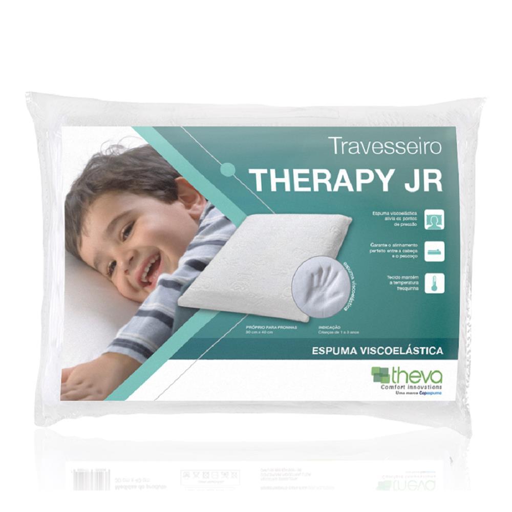 Travesseiro de Visco Elastico Theva Therapy Junior