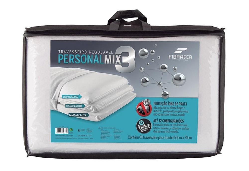 Travesseiro Personal MIX 3 Fibrasca