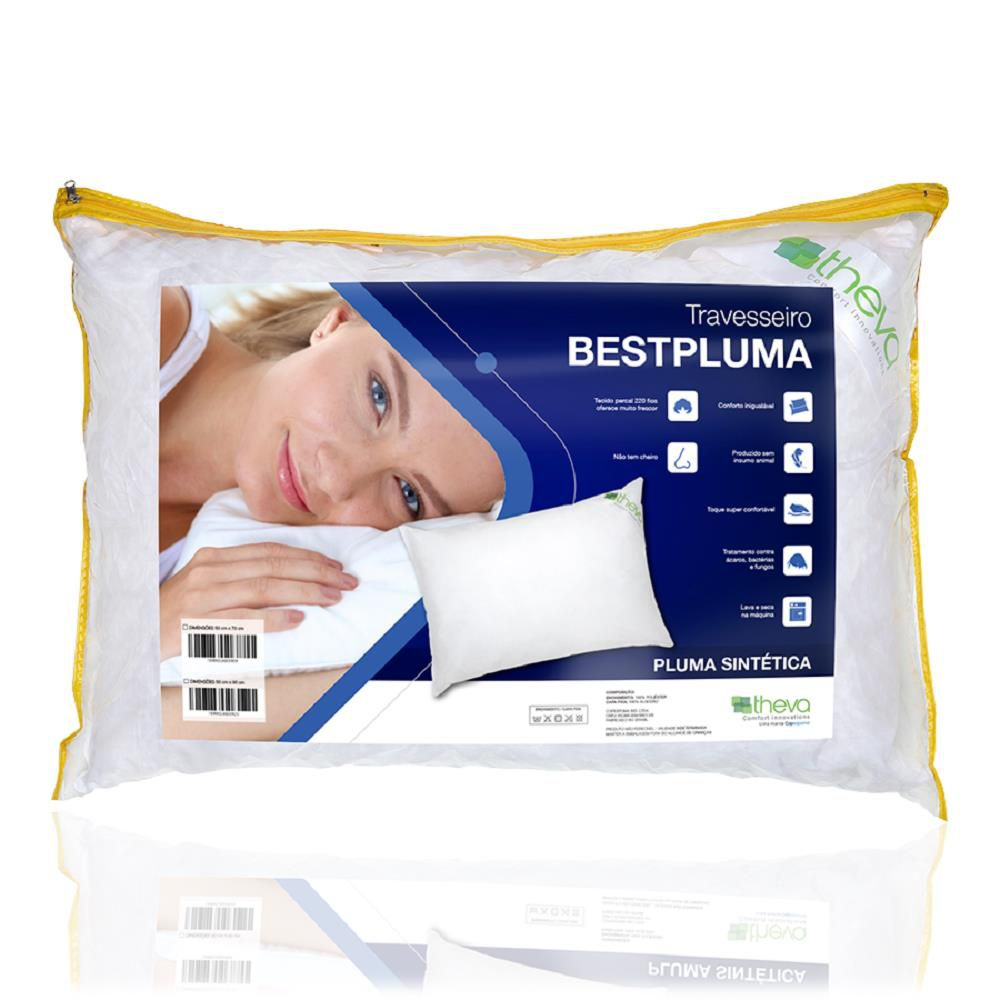 Travesseiro Theva Bestpluma Impermeavel