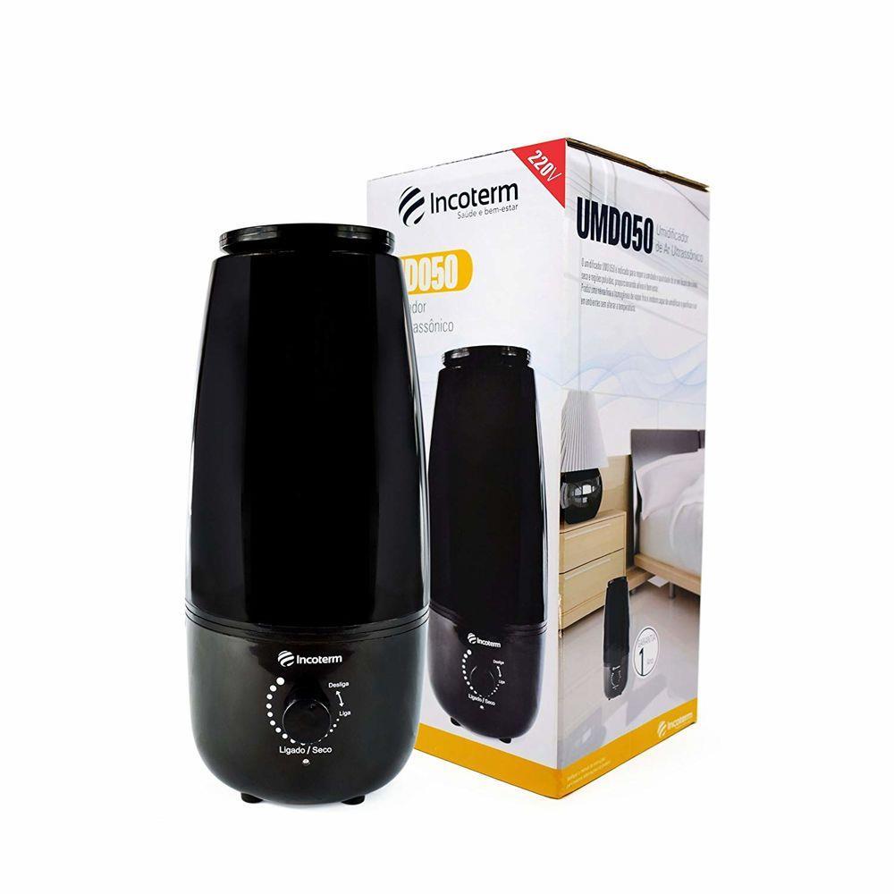 Umidificador de Ambiente Ultrassonico UMD050 1,6L Incoterm 110V