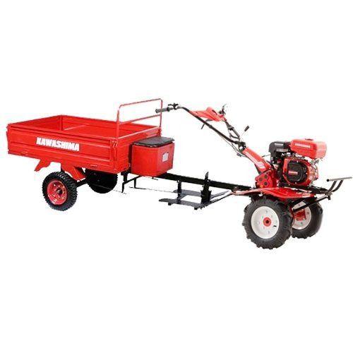 Motocultivador Micro Trator Com Carreta Agrícola Tobata