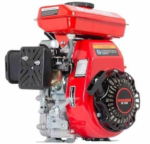 Motor Estacionario 2,5hp Gasolina Kawashima Uso Geral