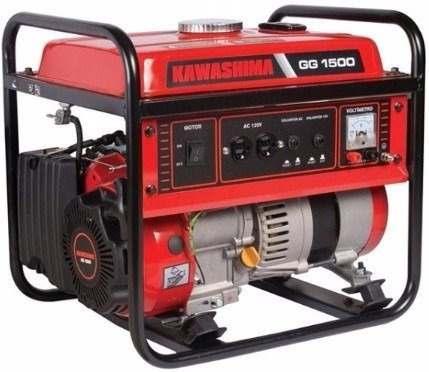 Gerador De Energia 1500w, Gasolina, 98cc, 4t - Kawashima