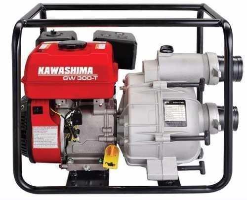 Motobomba Kawashima Gw 300-t 3x3'' Gasolina - Água Suja
