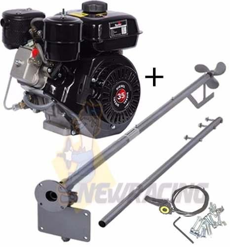 Motor Barco 3.5 Bote Diesel Toyama Popa + Rabeta 1.70 + Kit!