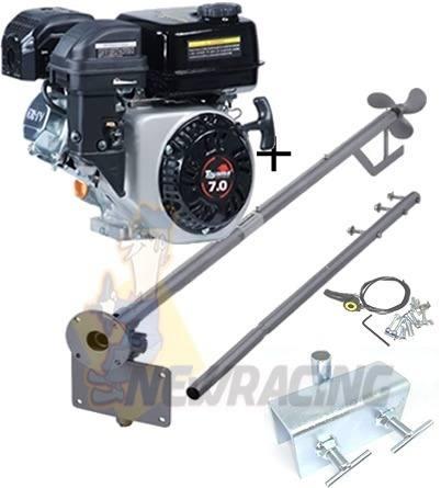 Motor Barco 7hp Bote 4t Toyama + Rabeta 2.20mt