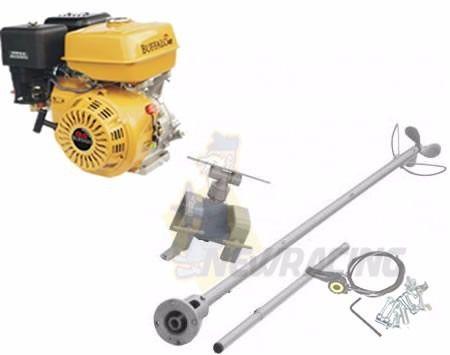 Motor Barco Buffalo 7 Hp - 4t Popa + Rabeta Especial
