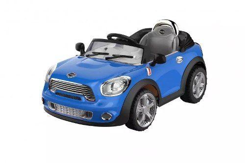 Mini Cooper Carro Elétrico Mp3 Controle Remoto