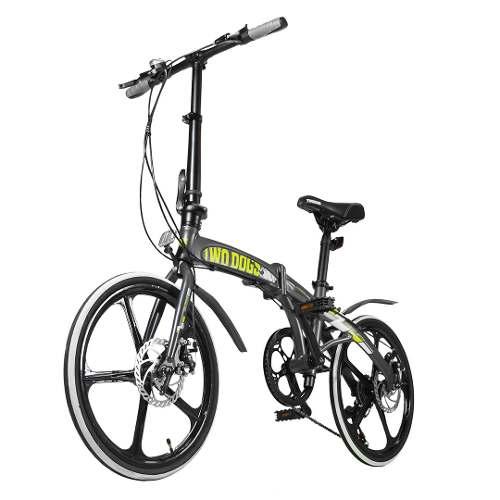 Bicicleta Dobrável Bike Aluminio Alloy Two Dogs Shimano 7vel