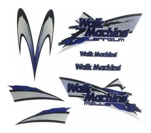 Adesivo Azul Original Para Walk Machine azul