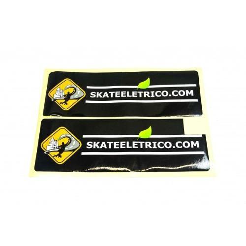 Adesivo - Skate Elétrico - Caixa De Bateria Do 800w (ld + Le