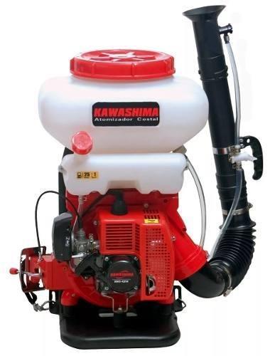 Atomizador Costal Motorizado A Gasolina 43cc Kawashima