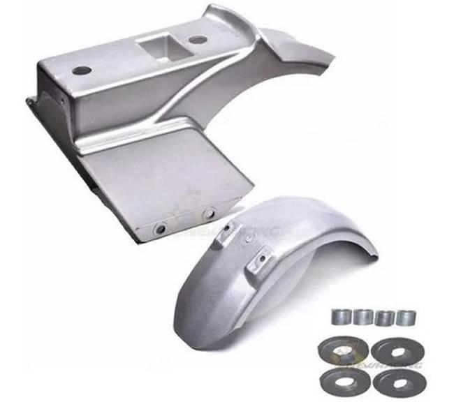 Carenagem Com Coxim Original Walk Machine Prata