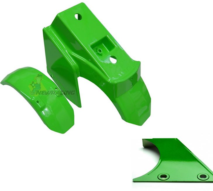Carenagem De Walk Machine Verde Paralama + Lateral