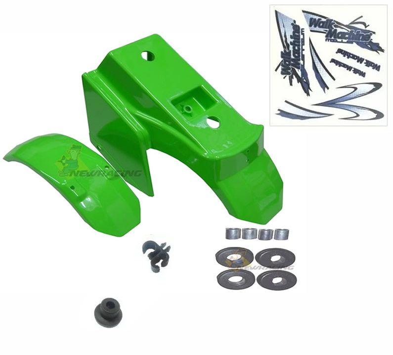 Carenagem verde Completa, Adesivo Walk Machine Original