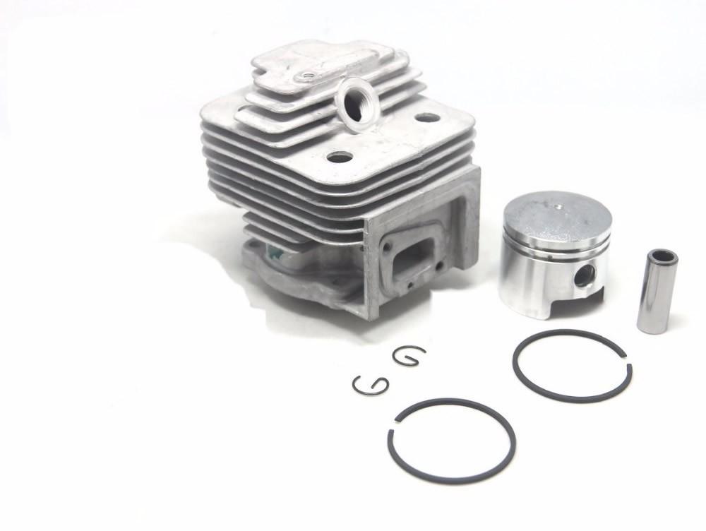 Cilindro Completo Para Motor Roçadeira Kw33 M-3300 Kawashima
