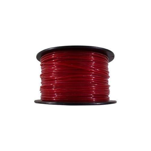 Fio De Nylon Rocadeira 3mm Redondo 1kg Vermelho 00057 01