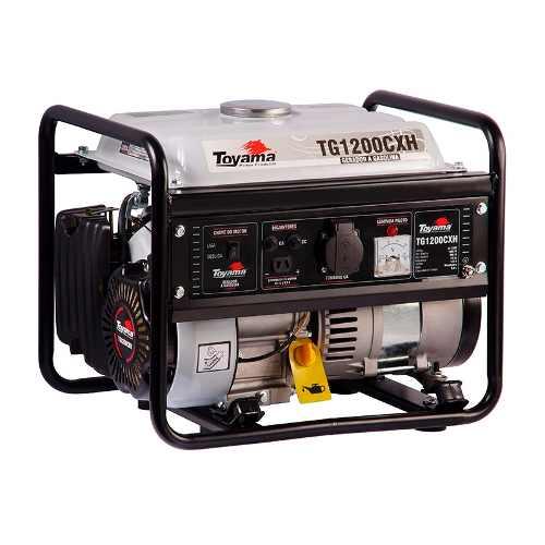 Gerador De Energia A Gasolina 1000w Tg1200cxh Toyama 220v