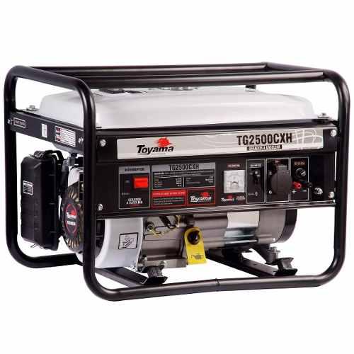Gerador De Energia A Gasolina 2000w Tg2500cxh Toyama 127v