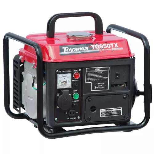 Gerador De Energia A Gasolina 900w Tg950tx Toyama 127v