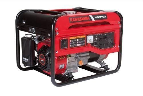 Gerador De Energia Gasolina Gg 3100 3,1kw 110/220 Kawashima