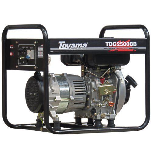Gerador Diesel A Ar - Abertos Trifásicos Tdg8000Exp3 Toyama