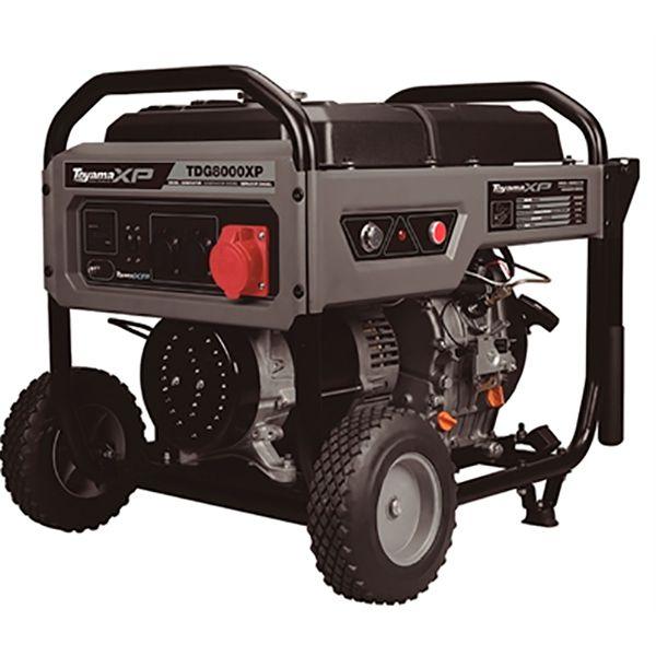 Gerador Diesel A Ar - Abertos Trifásicos Tdg8000Exp3D Toyama