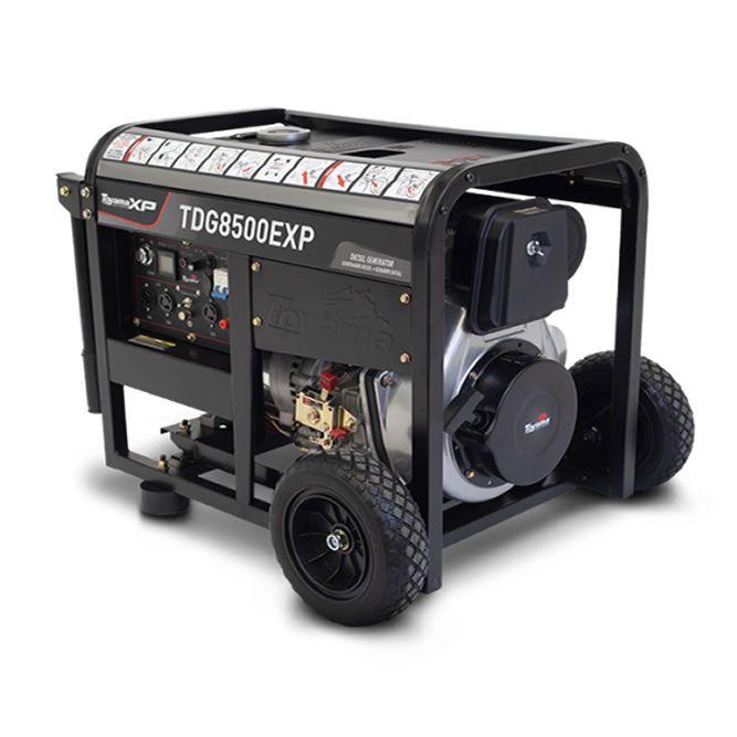 Gerador Diesel  Monof. TDG8500EBXP Toyama