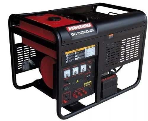 Gerador Energia Trifásico 380v 12kva Kawashima Gg 12000-et