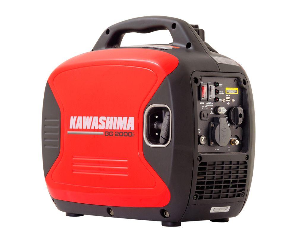 Gerador Gg2000Iy 2Kw Inverter 127V Kawashima