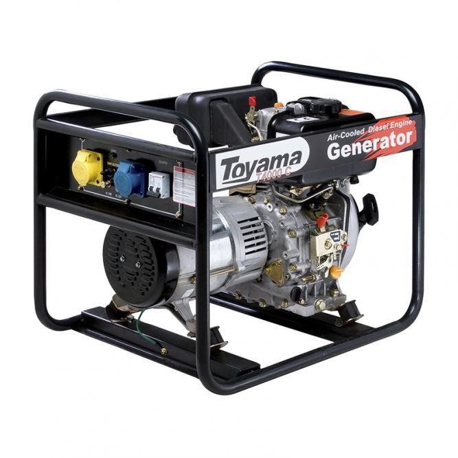 Gerador Diesel  Monof. Tdg4000Bb Toyama