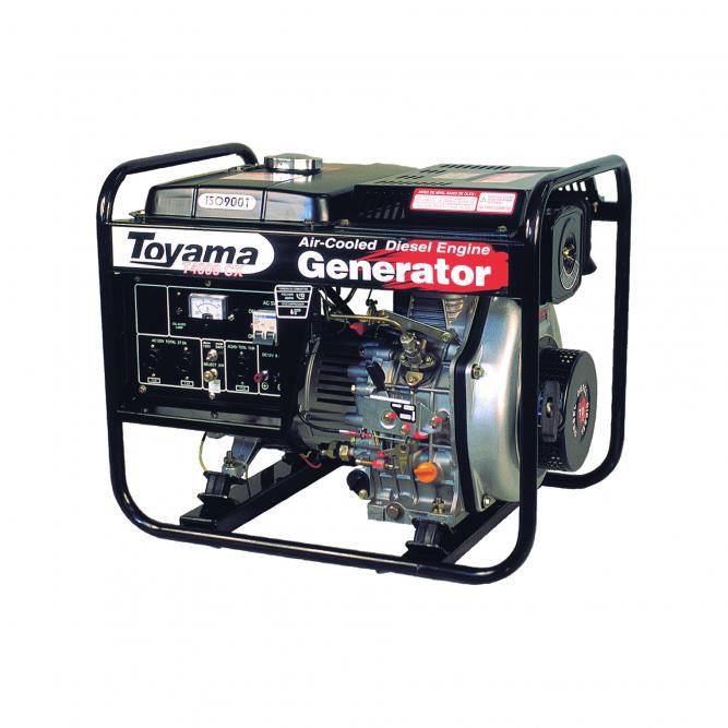Gerador Diesel  Monof. Tdg4000Cx Toyama
