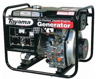 Gerador Diesel  Monof. Tdg4000Cxe Toyama