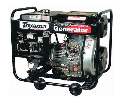 Gerador Diesel  Monof. Tdg6000Cxe Toyama