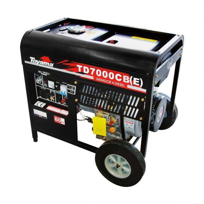 Gerador Diesel  Monof. Tdg7000Cxeb Toyama