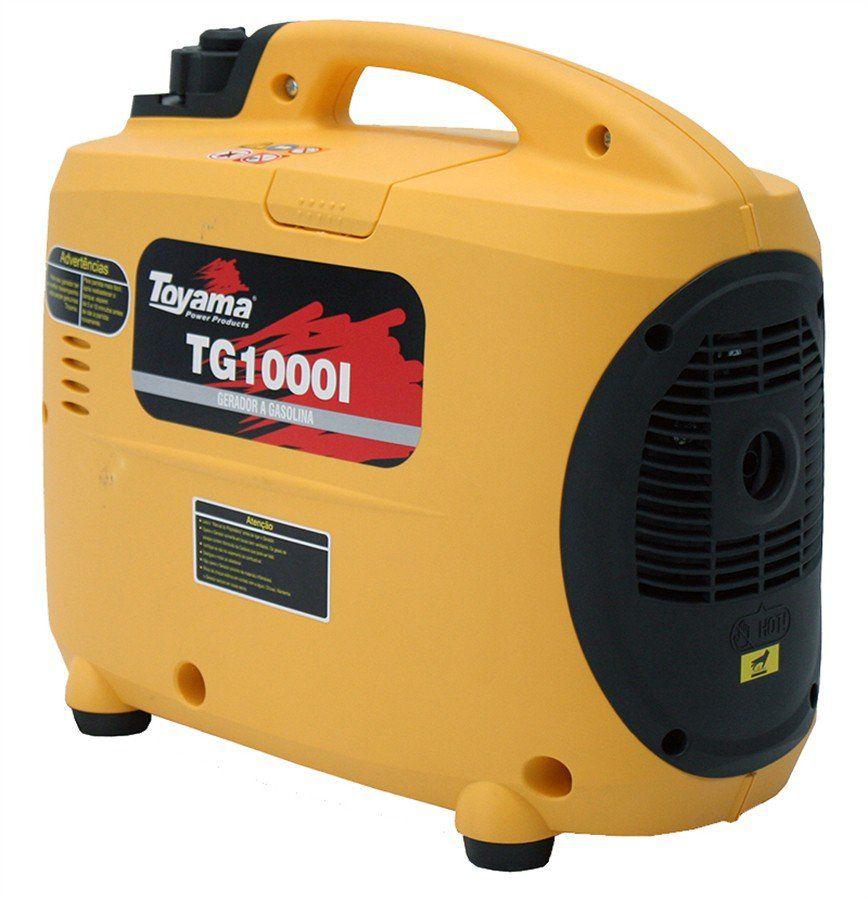 Gerador Digital A Gas.  4 Tempos Tg1000I110 Toyama
