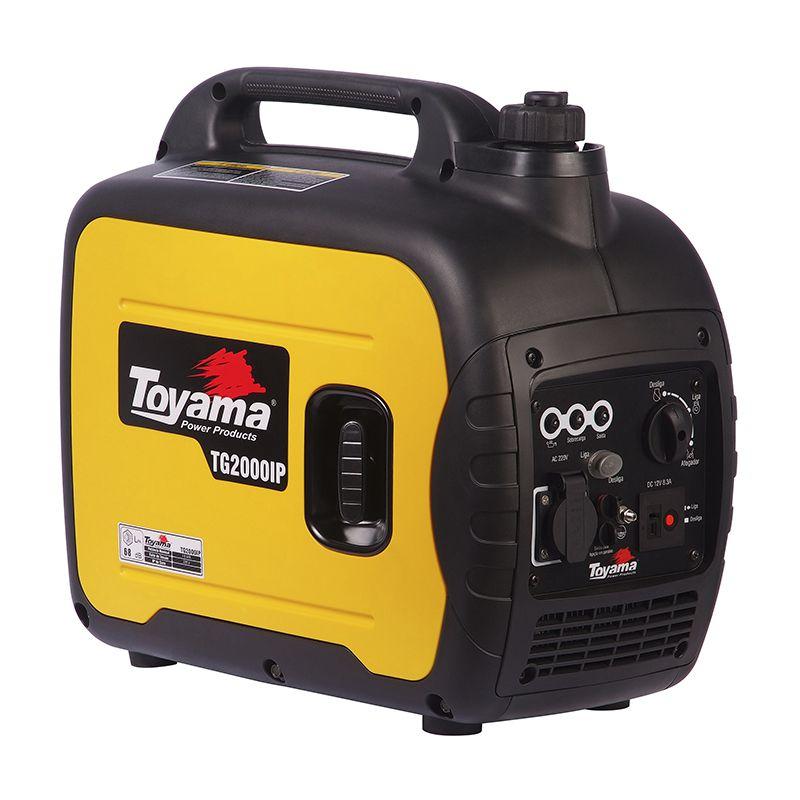 Gerador Digital A Gas.  4 Tempos Tg2000Ip-110 Toyama